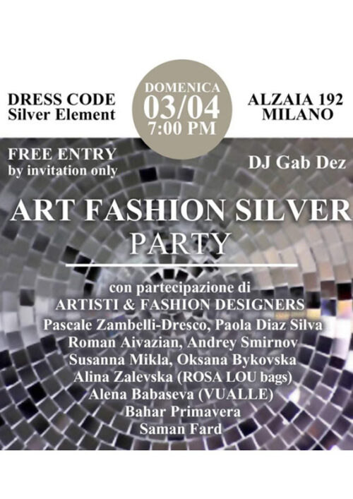 RED ART SILVER PARTY