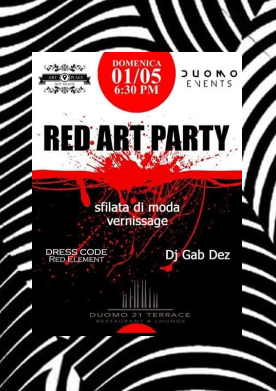 RED ART PARTY
