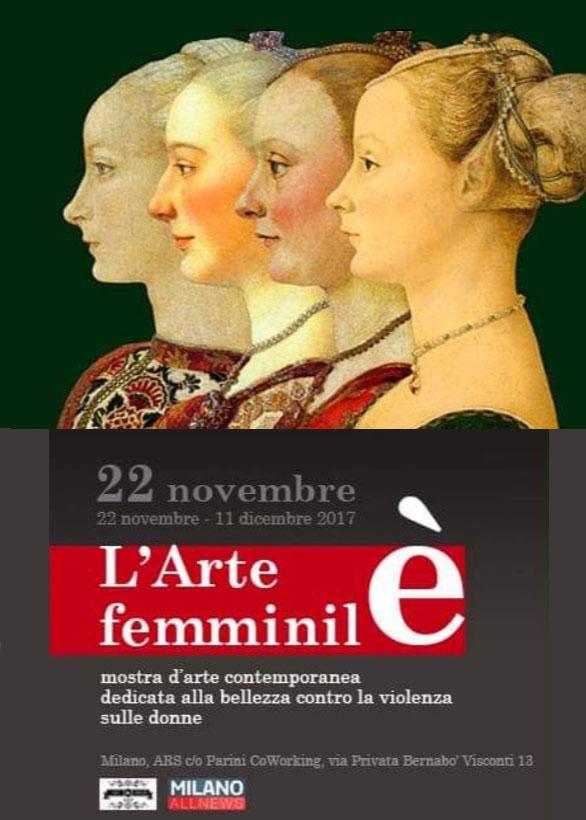 L'ARTE è FEMMINILE